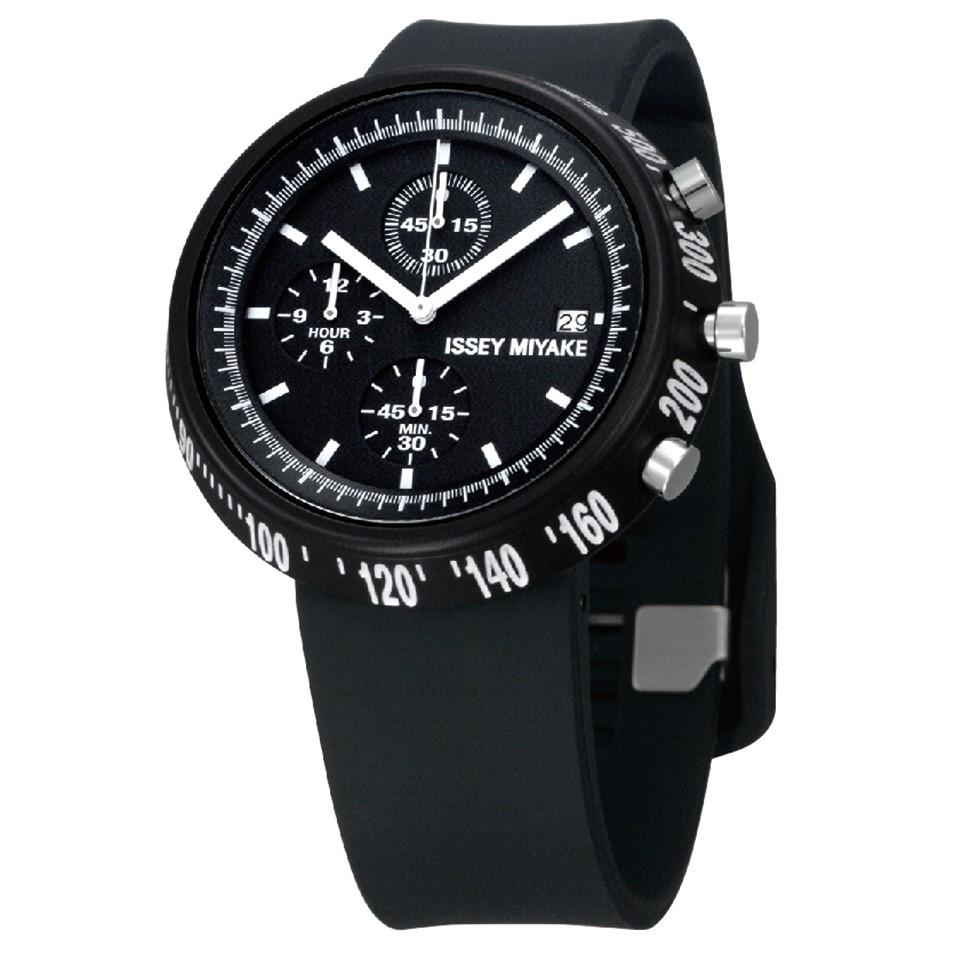 ISSEY MIYAKE 三宅一生錶款 ISSEY MIYAKE-梯形/AL系列男仕腕錶-黑 | 設計 | Citiesocial