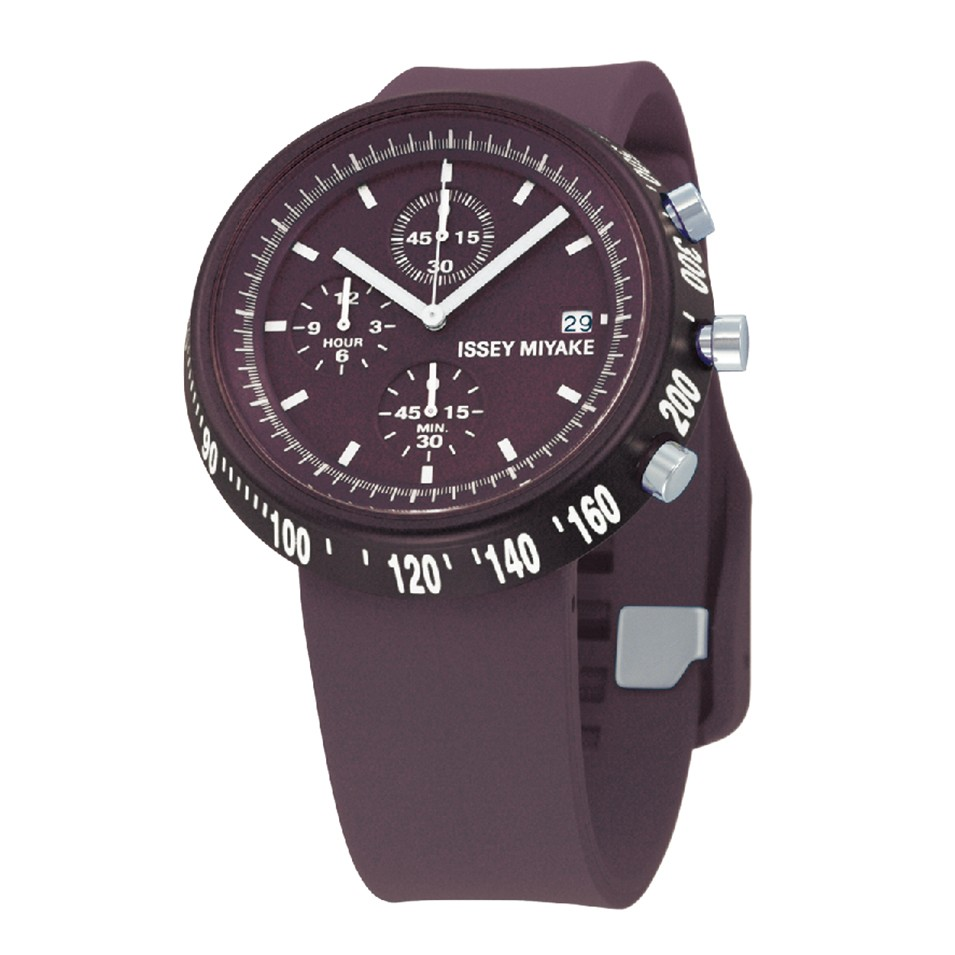 ISSEY MIYAKE 三宅一生錶款 ISSEY MIYAKE-梯形/AL系列男仕腕錶-紫 | 設計 | Citiesocial
