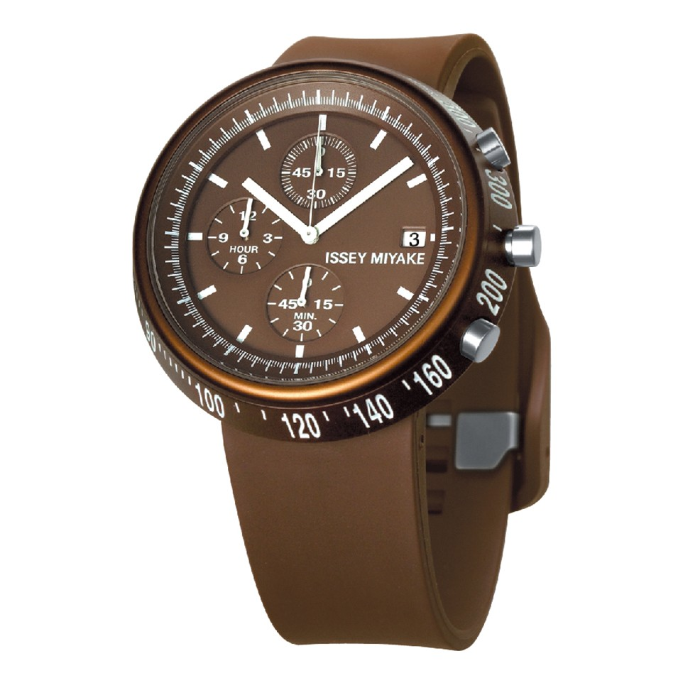 ISSEY MIYAKE 三宅一生錶款 ISSEY MIYAKE-梯形/AL系列男仕腕錶-咖啡 | 設計 | Citiesocial
