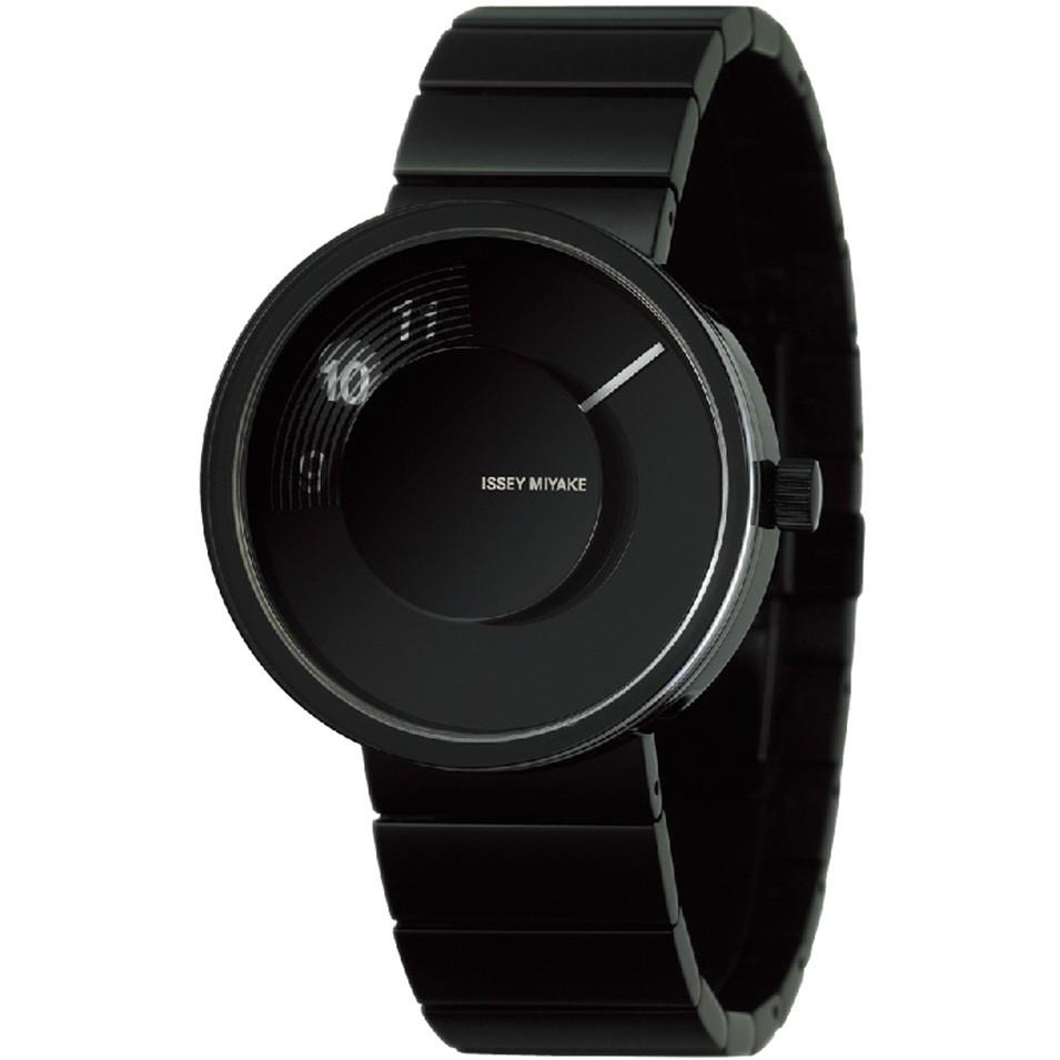 ISSEY MIYAKE 三宅一生錶款 ISSEY MIYAKE-VUE系列男仕腕錶-黑 | 設計 | Citiesocial