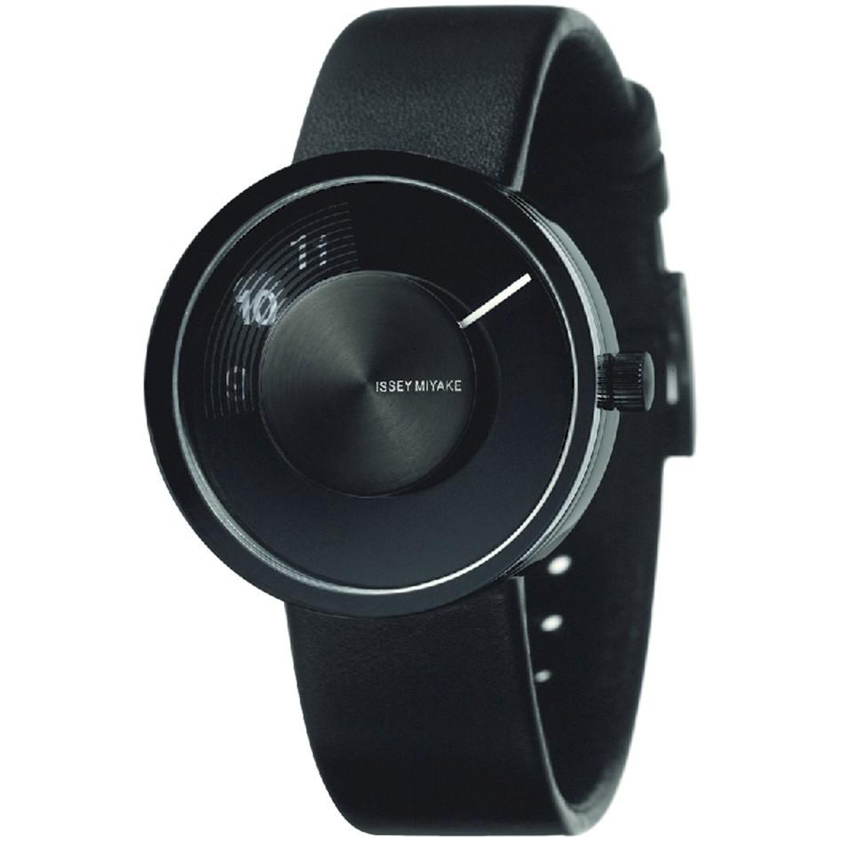 ISSEY MIYAKE 三宅一生錶款 ISSEY MIYAKE-VUE系列男仕腕錶-黑真皮表帶 | 設計 | Citiesocial