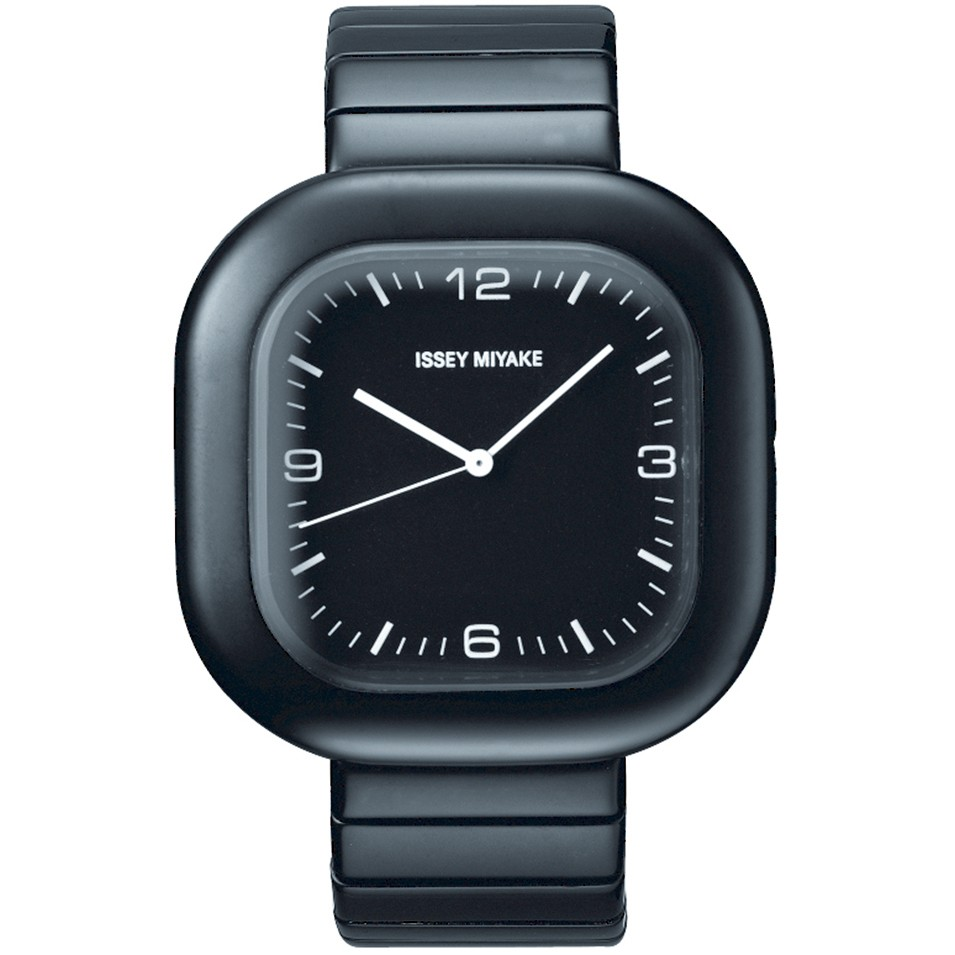 ISSEY MIYAKE 三宅一生錶款 ISSEY MIYAKE-GO系列中性腕錶-黑面 | 設計 | Citiesocial
