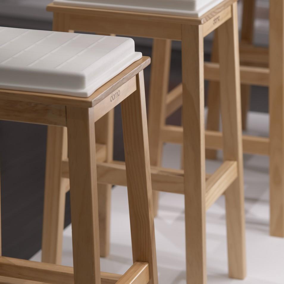 Studio Domo 達摩工坊 Tofu 豆腐吧檯椅 | 設計 | Citiesocial