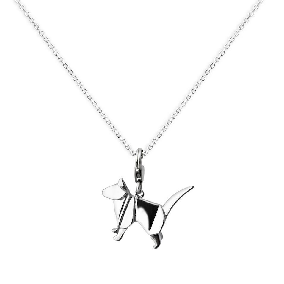 Truney Jewellery 創意銀飾 摺紙小動物墜鏈(撿到一隻貓) | 設計 | Citiesocial