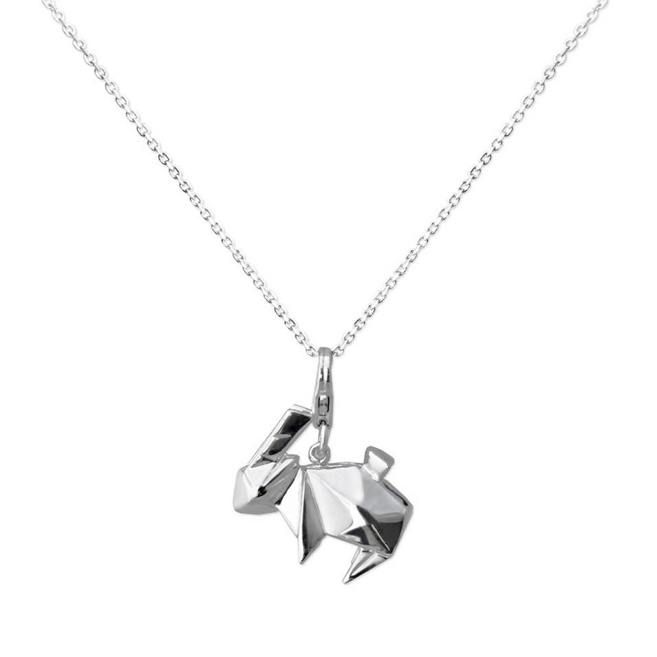 Truney Jewellery 創意銀飾 摺紙小動物墜鏈(彼得小兔) | 設計 | Citiesocial