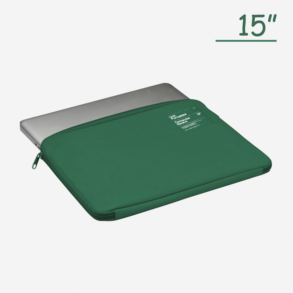 Unit Portables 由你包 Unit07 15吋電腦保護套(原野綠)   設計   Citiesocial