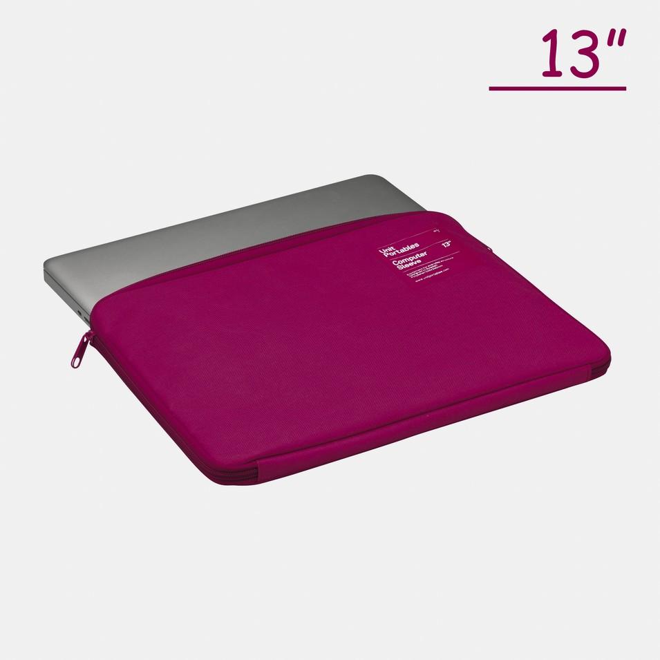 Unit Portables 由你包 Unit07 13吋電腦保護套(玫瑰紅) | 設計 | Citiesocial