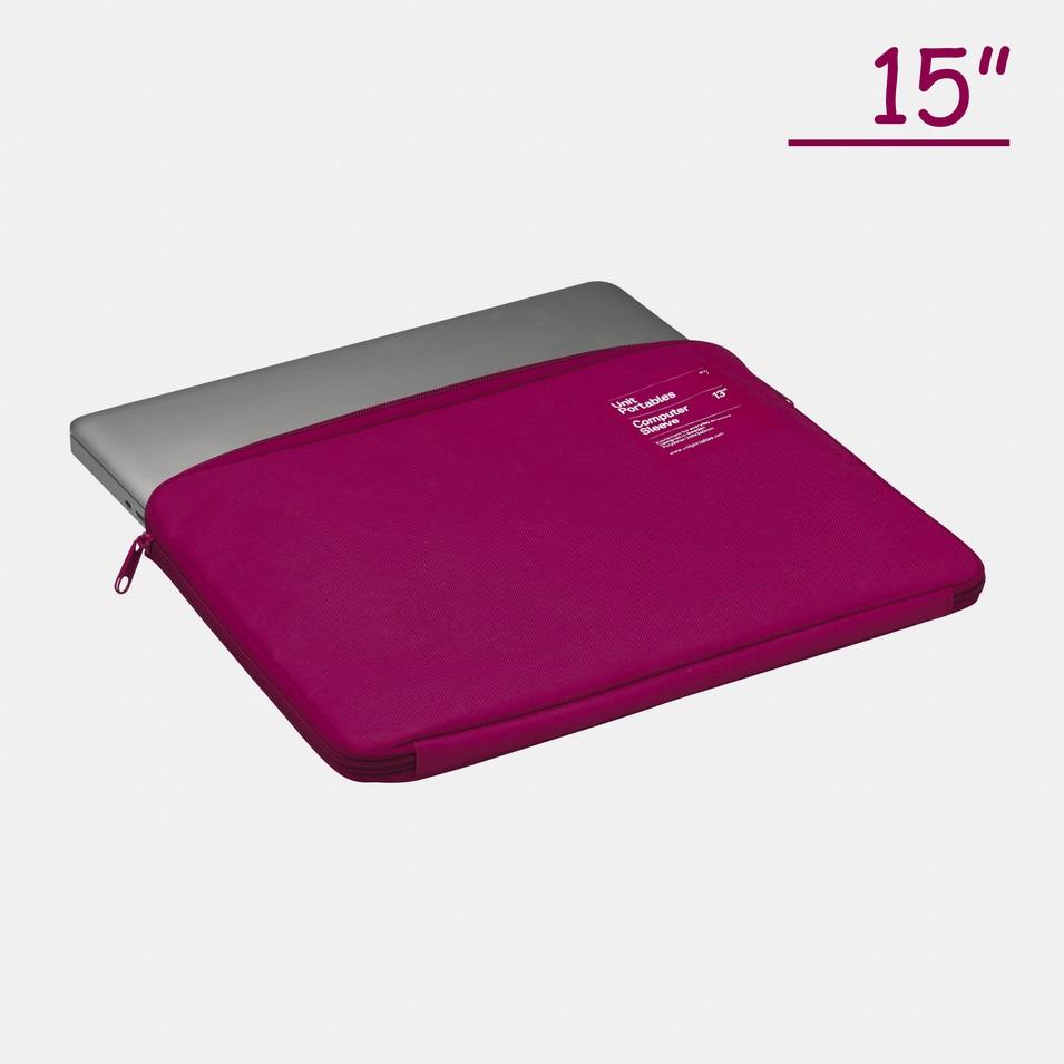 Unit Portables 由你包 Unit07 15吋電腦保護套(玫瑰紅) | 設計 | Citiesocial