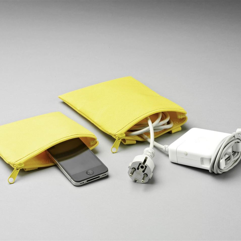Unit Portables 由你包 Unit 02/03 配件袋-亮黃色 | 設計 | Citiesocial