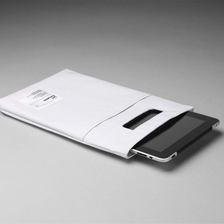 Unit Portables 由你包 Unit 04 iPad 保護套-羽翼白 | 設計 | Citiesocial