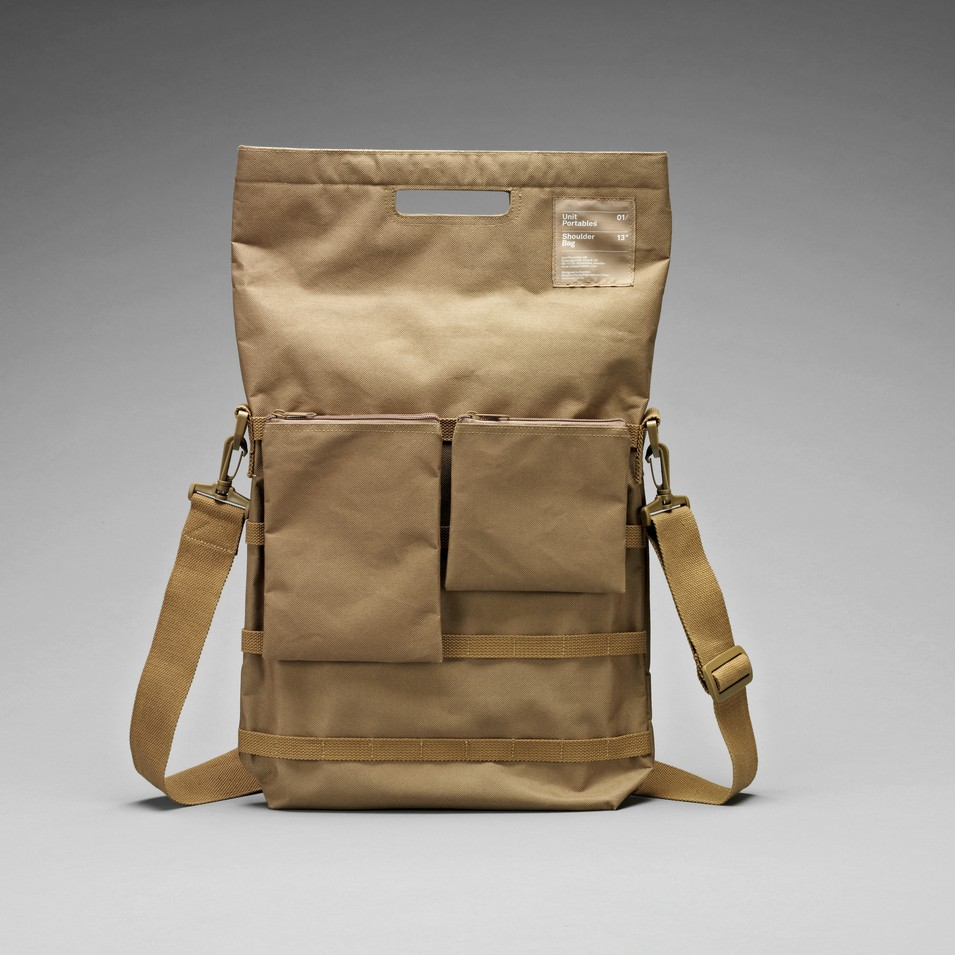 Unit Portables 由你包 Unit 01/02/03 13吋電腦肩包-卡其色 | 設計 | Citiesocial
