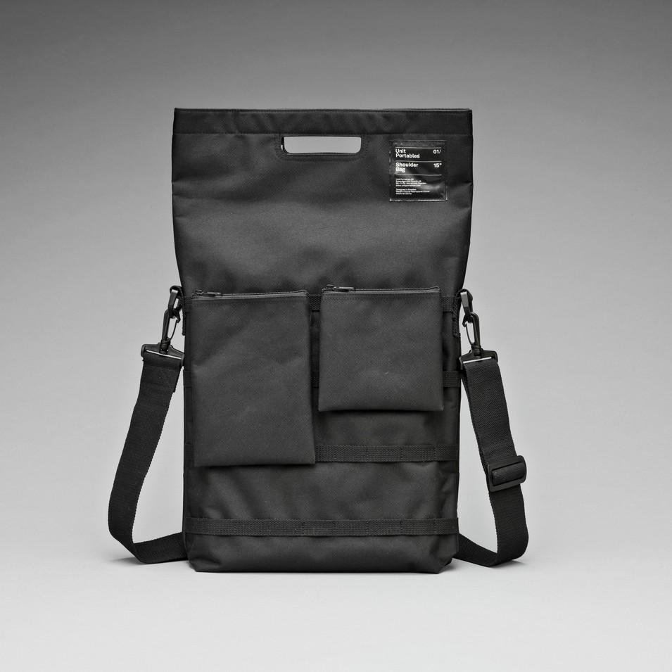 Unit Portables 由你包 Unit 01/02/03 13吋電腦肩包-精簡黑 | 設計 | Citiesocial