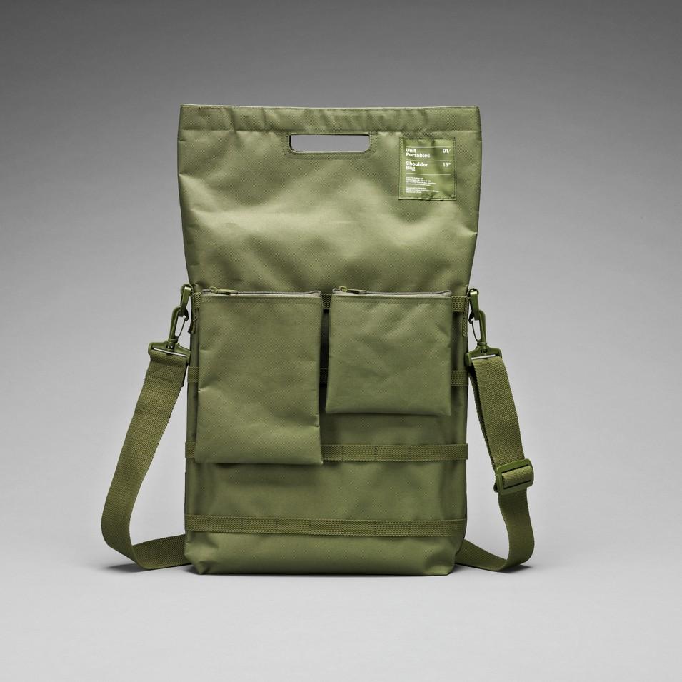 Unit Portables 由你包 Unit 01/02/03 13吋電腦肩包-軍綠色 | 設計 | Citiesocial