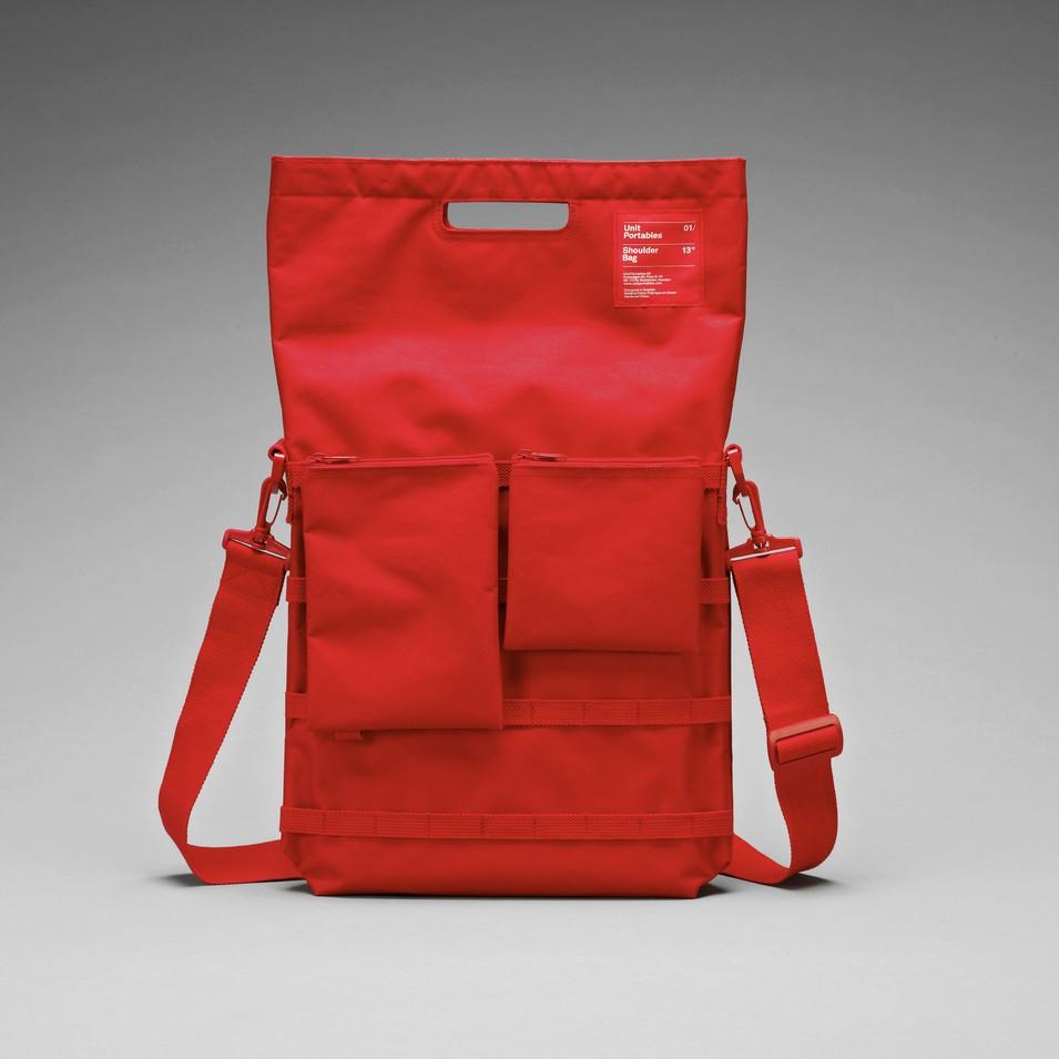 Unit Portables 由你包 Unit 01/02/03 15吋電腦肩包-鮮紅色 | 設計 | Citiesocial