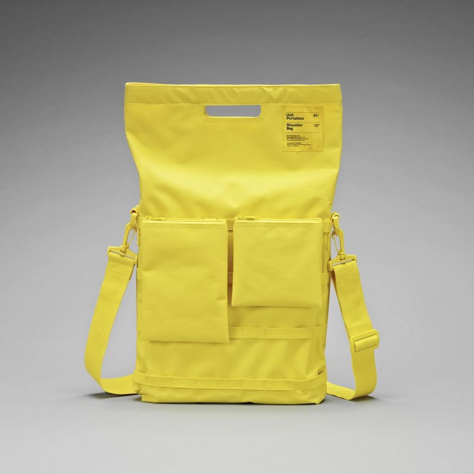 Unit Portables 由你包 Unit 01/02/03 13吋電腦肩包-亮黃色 | 設計 | Citiesocial