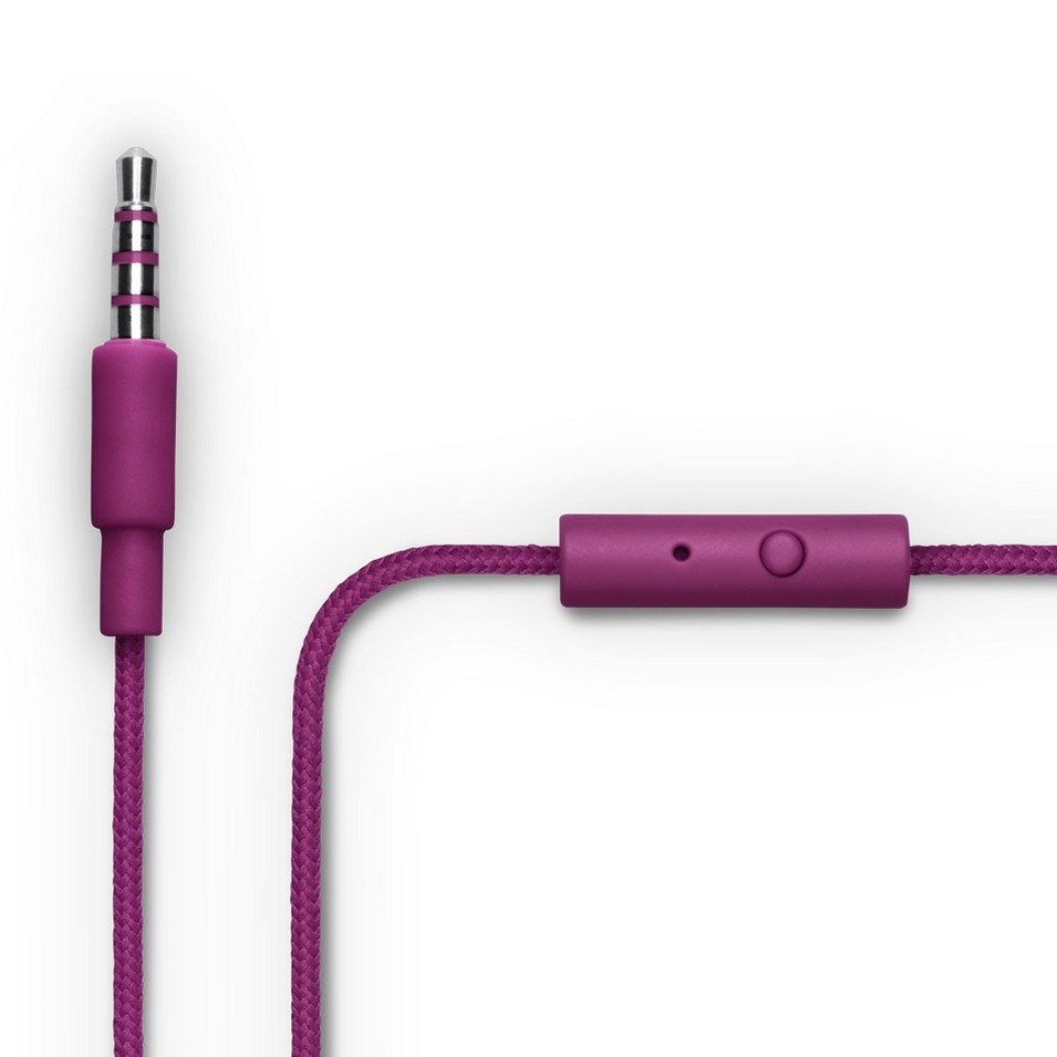 Urbanears 瑞典時尚耳機 Bagis炫彩耳道式耳機 (葡萄紫) | 設計 | Citiesocial