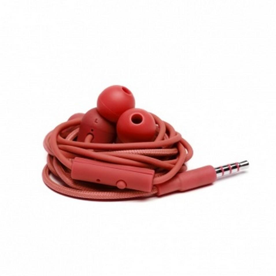 Urbanears 瑞典時尚耳機 Bagis炫彩耳道式耳機 (番茄紅) | 設計 | Citiesocial
