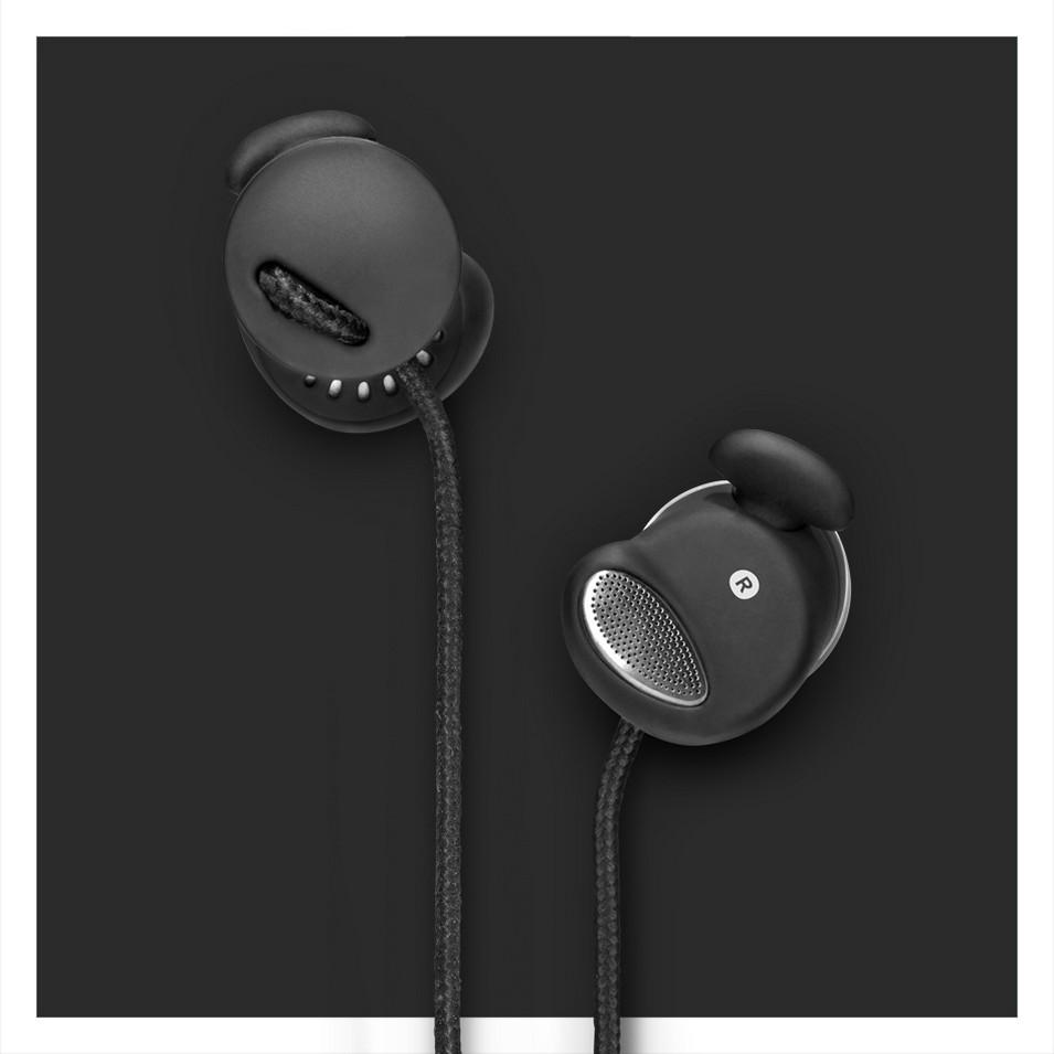 Urbanears 瑞典時尚耳機 Medis Plus專利耳塞式耳機(精簡黑)   設計   Citiesocial