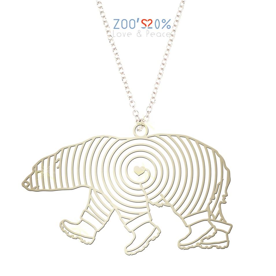 ZOO'S 20% 北極熊項鍊-L | 設計 | Citiesocial