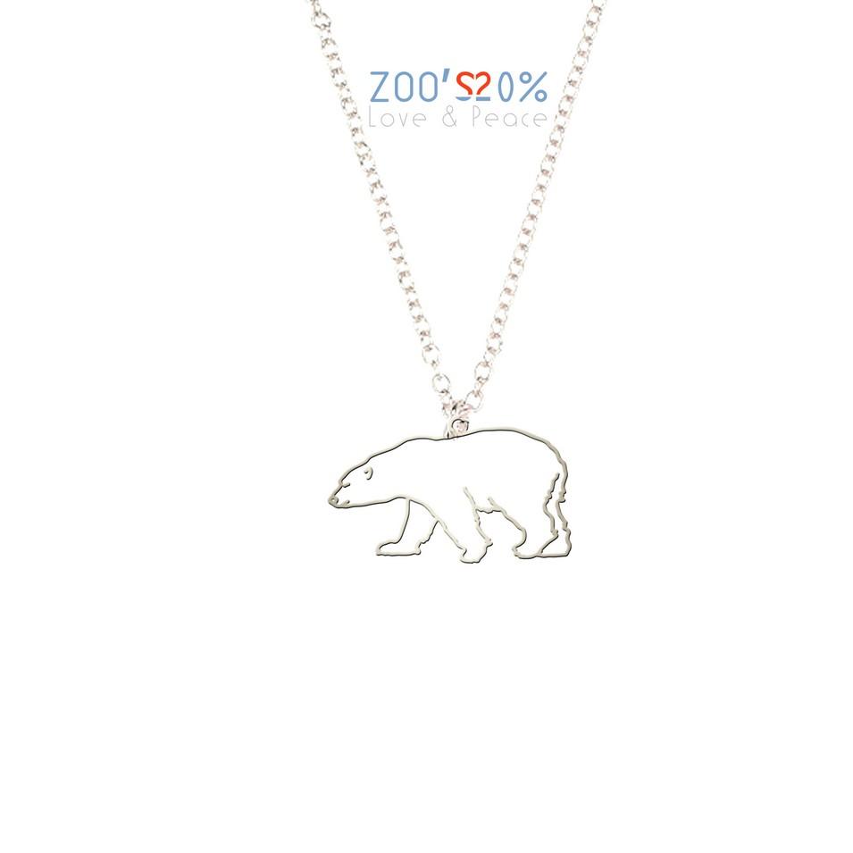 ZOO'S 20% 北極熊項鍊-框框版-S | 設計 | Citiesocial