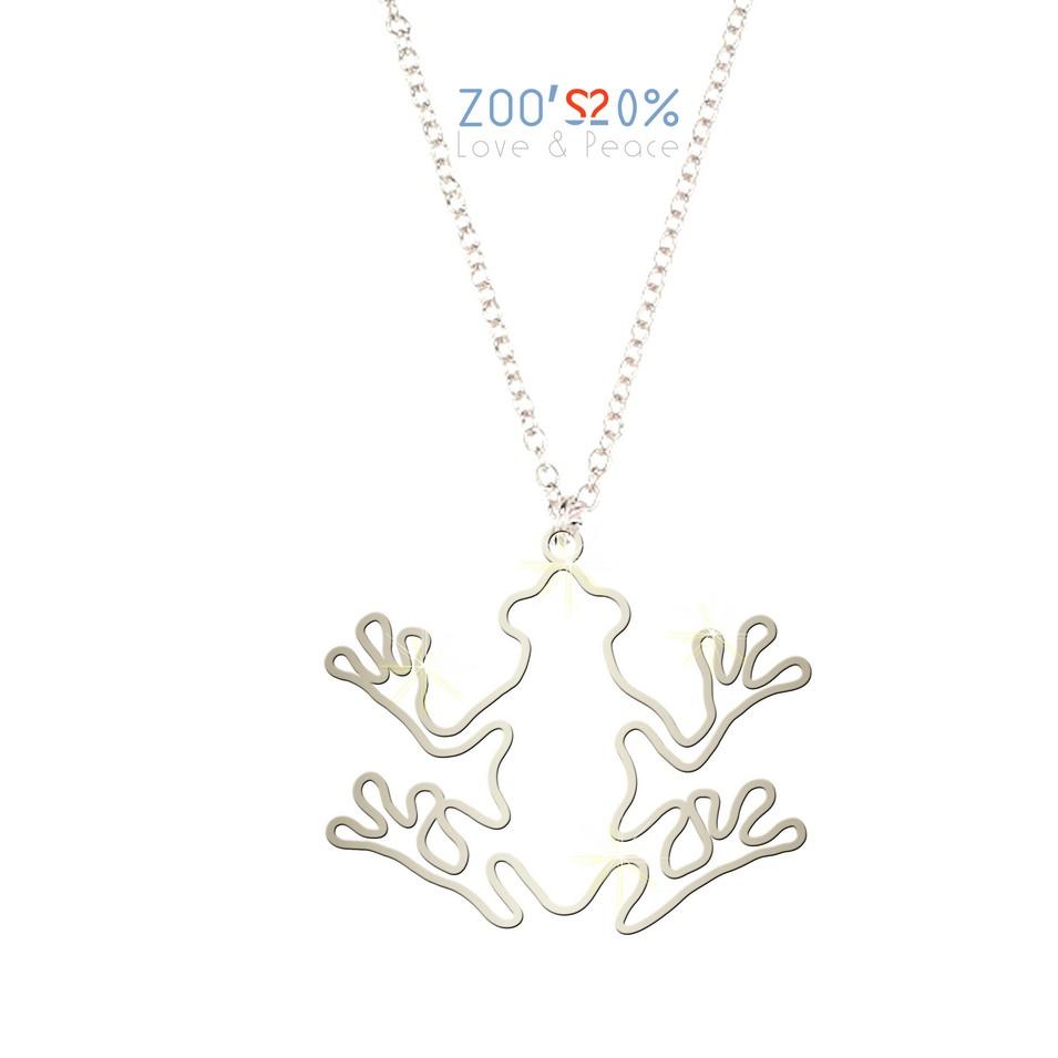ZOO'S 20% 青蛙項鍊-框框版-M | 設計 | Citiesocial