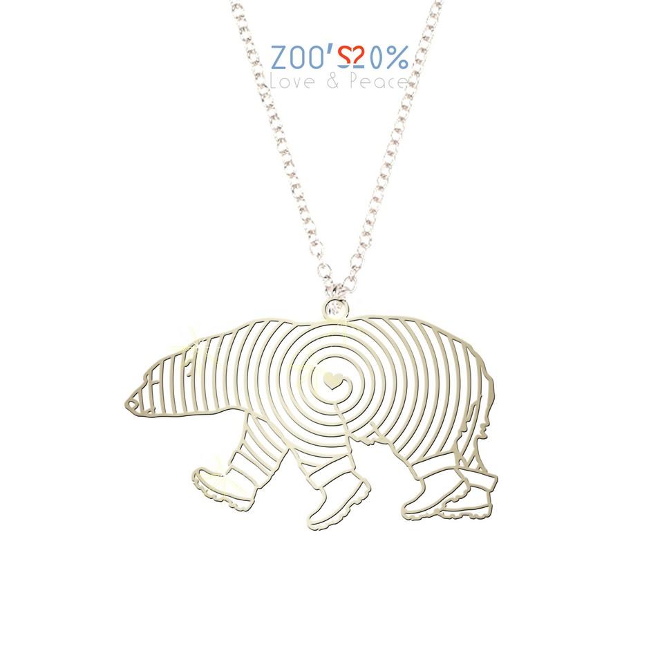 ZOO'S 20% 北極熊項鍊-M | 設計 | Citiesocial