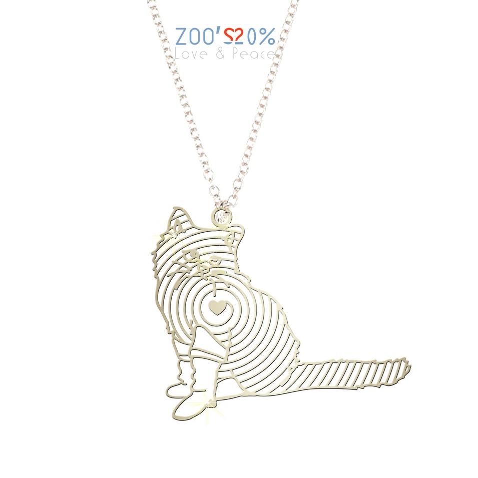 ZOO'S 20% 貓咪項鍊-M | 設計 | Citiesocial