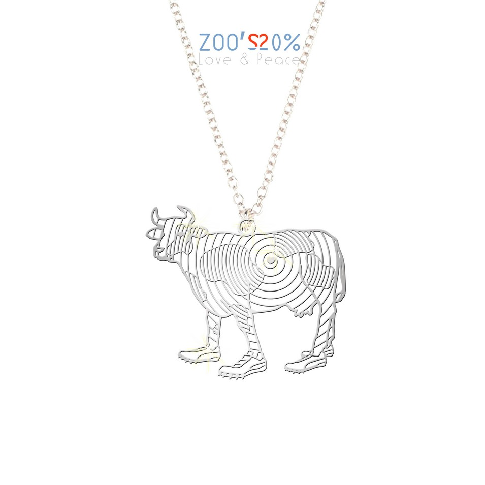 ZOO'S 20% 乳牛項鍊-M | 設計 | Citiesocial