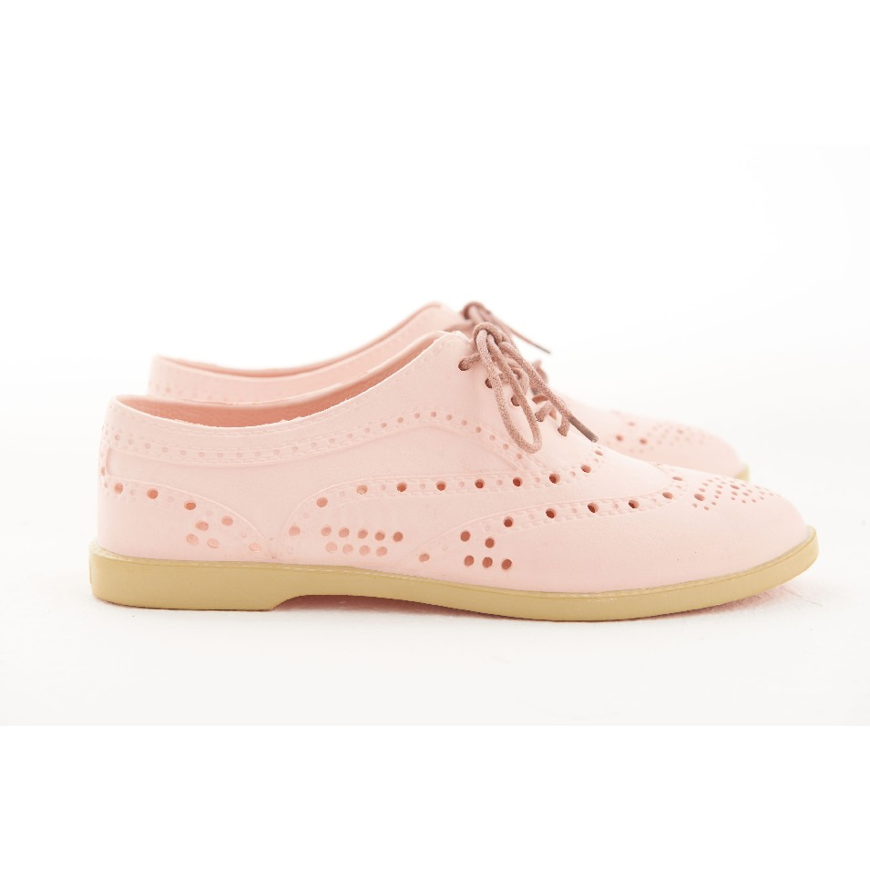 Englox 韓國雨鞋潮牌 Mariana 牛津雨鞋 - 粉紅 | 設計 | Citiesocial