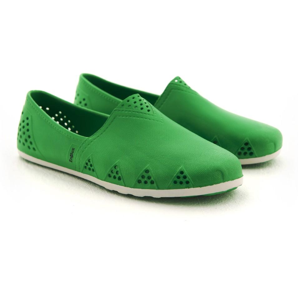 Englox 韓國雨鞋潮牌 Sherwood 平底雨鞋 - 綠 | 設計 | Citiesocial
