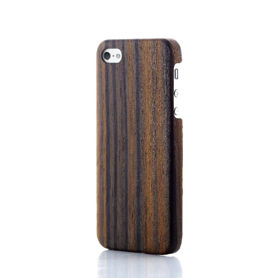 Evouni 時尚3C配件 纖 複合木殼iPhone 5 - 黑檀木 | 設計 | Citiesocial