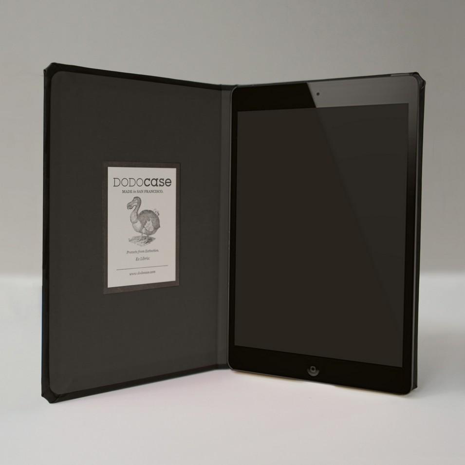 DODOcase 無框經典款iPad mini手工保護殼(炭色內裡) | 設計 | Citiesocial