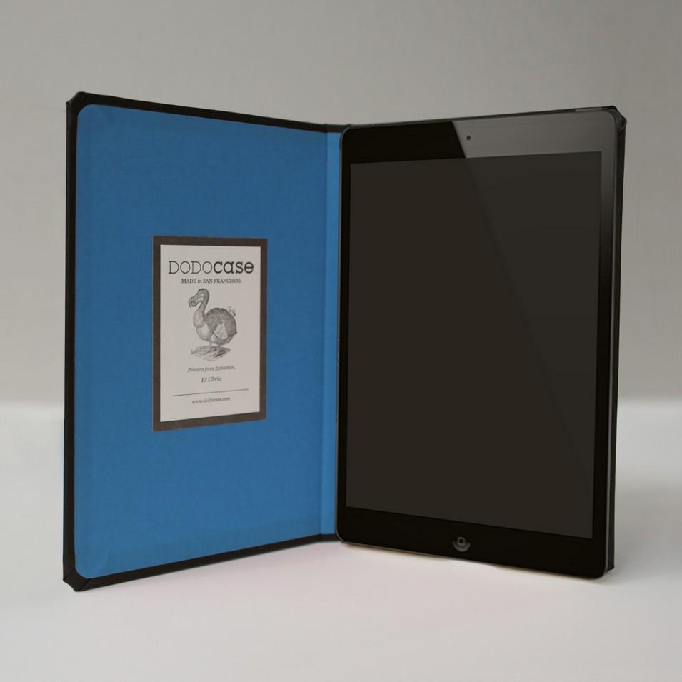 DODOcase 無框經典款iPad mini手工保護殼(藍色內裡) | 設計 | Citiesocial
