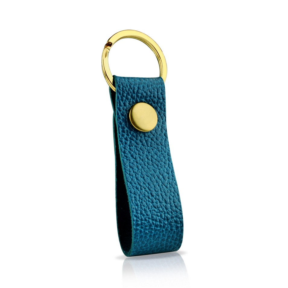 Evouni 時尚3C配件 彩_皮革鑰匙圈_藍 | 設計 | Citiesocial
