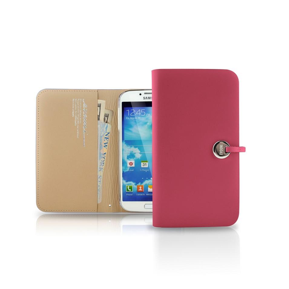Evouni 時尚3C配件 納_皮夾護套_Samsung S4_粉紅(限量) | 設計 | Citiesocial