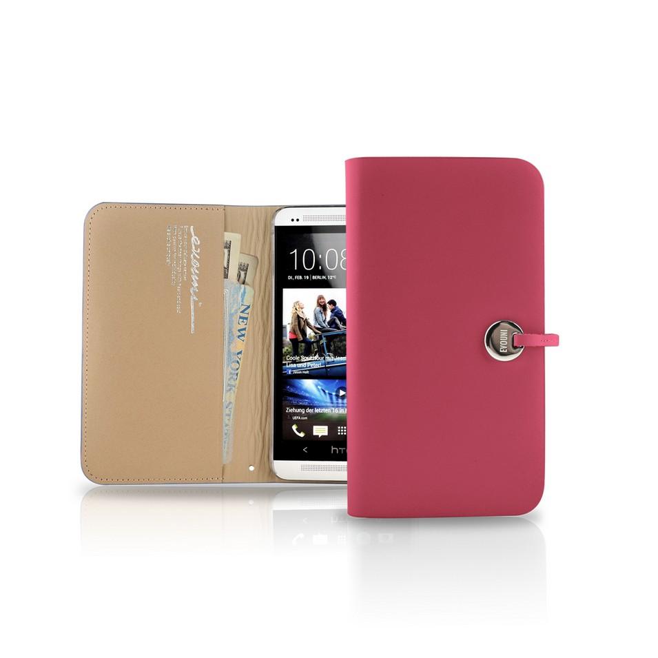 Evouni 時尚3C配件 納_皮夾護套_HTC One_粉紅(限量) | 設計 | Citiesocial
