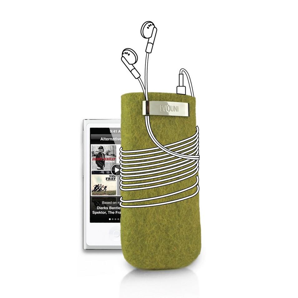 Evouni 時尚3C配件 原_手做羊毛保護套_iPod nano(綠) | 設計 | Citiesocial