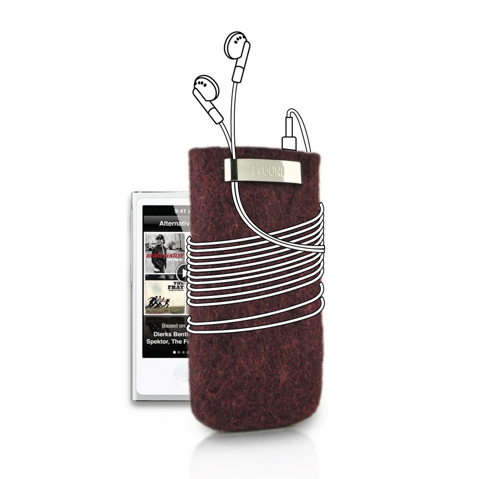 Evouni 時尚3C配件 原_手做羊毛保護套_iPod nano(紫) | 設計 | Citiesocial