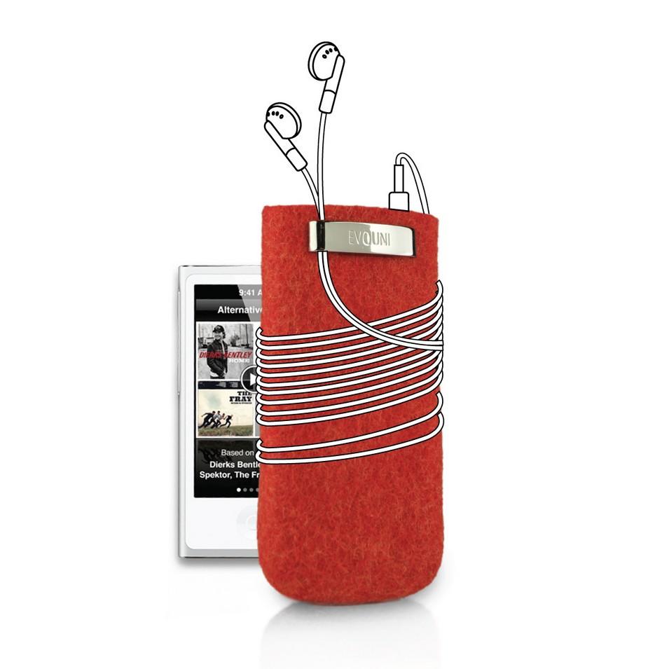 Evouni 時尚3C配件 原_手做羊毛保護套_iPod nano(紅) | 設計 | Citiesocial
