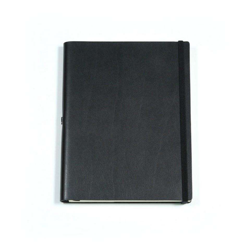 Jadeco客製化筆記本 平紋皮革筆記本 (A5空白頁 黑) | 設計 | Citiesocial