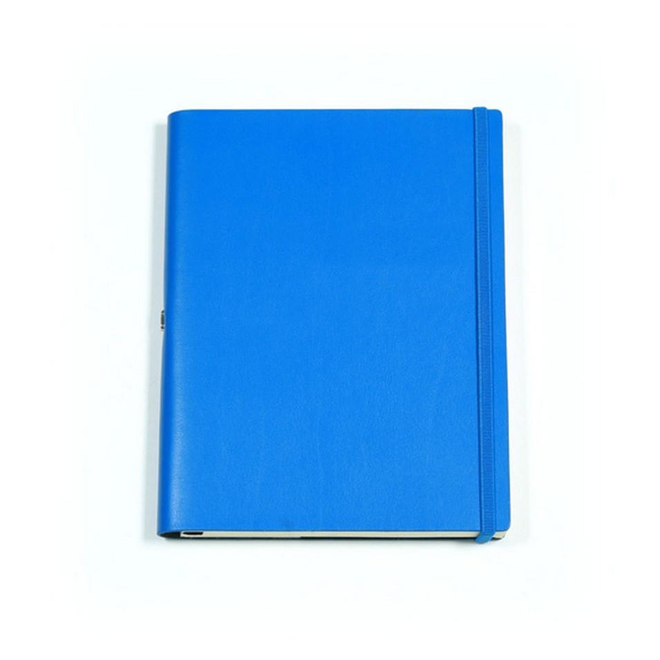 Jadeco客製化筆記本 平紋皮革筆記本 (A5空白頁 藍) | 設計 | Citiesocial
