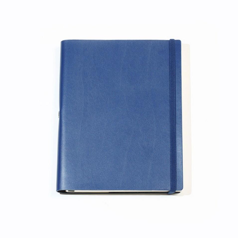 Jadeco客製化筆記本 平紋皮革筆記本 (A5空白頁 深藍) | 設計 | Citiesocial