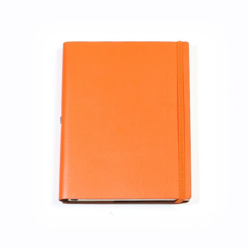 Jadeco客製化筆記本 平紋皮革筆記本 (A5空白頁 橘) | 設計 | Citiesocial