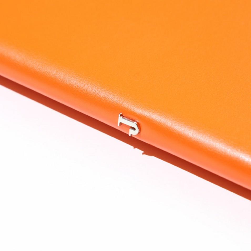 Jadeco客製化筆記本 平紋皮革筆記本 (A5橫格頁 橘) | 設計 | Citiesocial