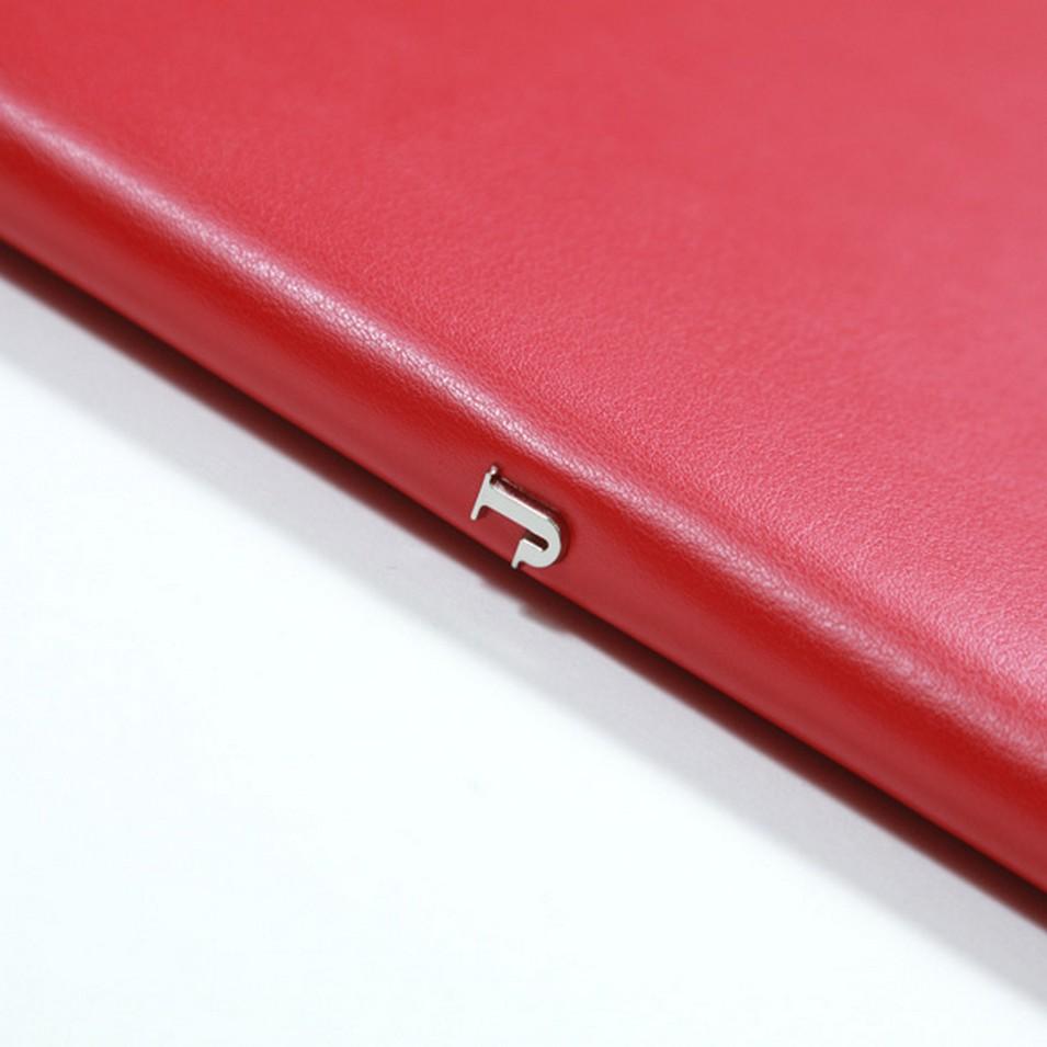 Jadeco 平紋皮革筆記本 (A5橫格頁 紅) | 設計 | Citiesocial