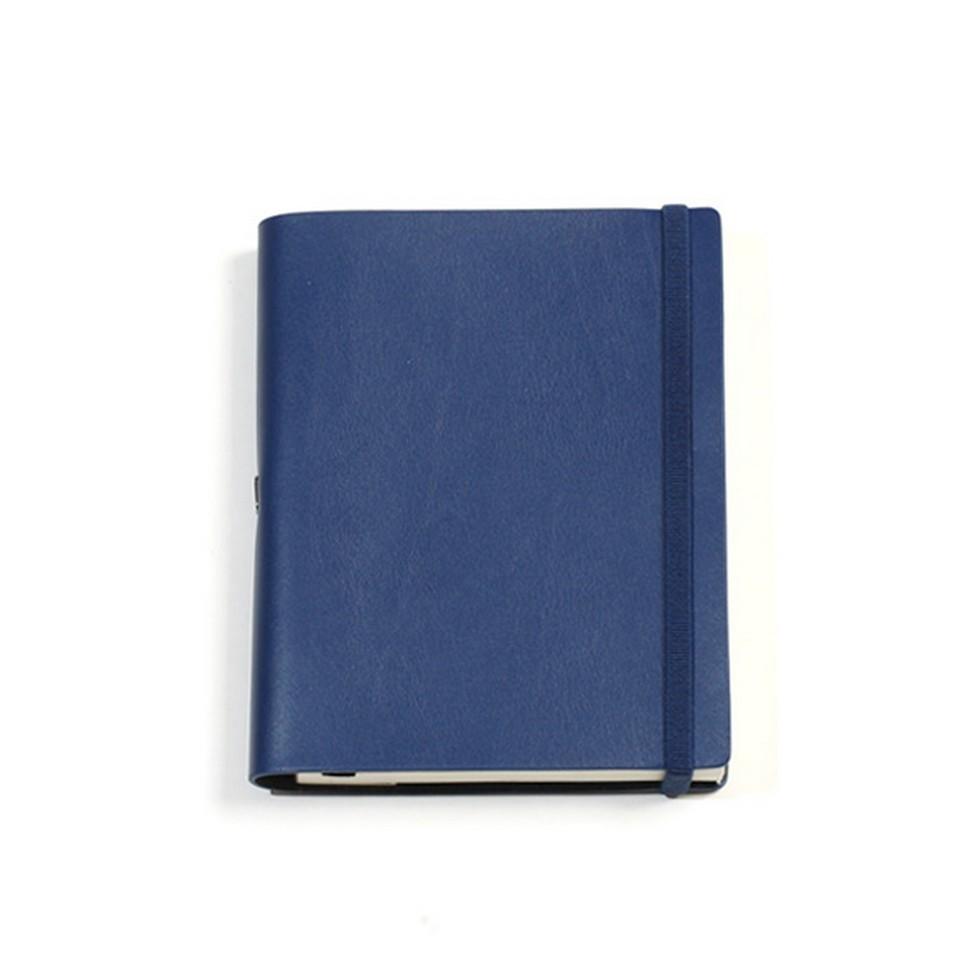 Jadeco客製化筆記本 平紋皮革筆記本 (A6空白頁 深藍) | 設計 | Citiesocial