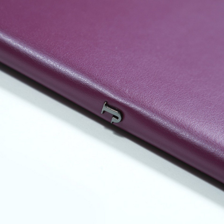 Jadeco 平紋皮革筆記本 (A6橫格頁 紫) | 設計 | Citiesocial