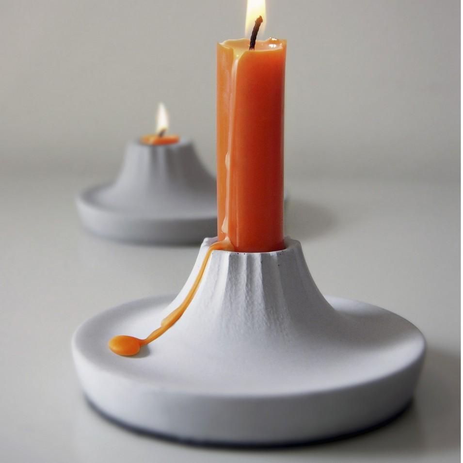 KALKI'D 環保設計 親水泥 - 火山燭台 | 設計 | Citiesocial