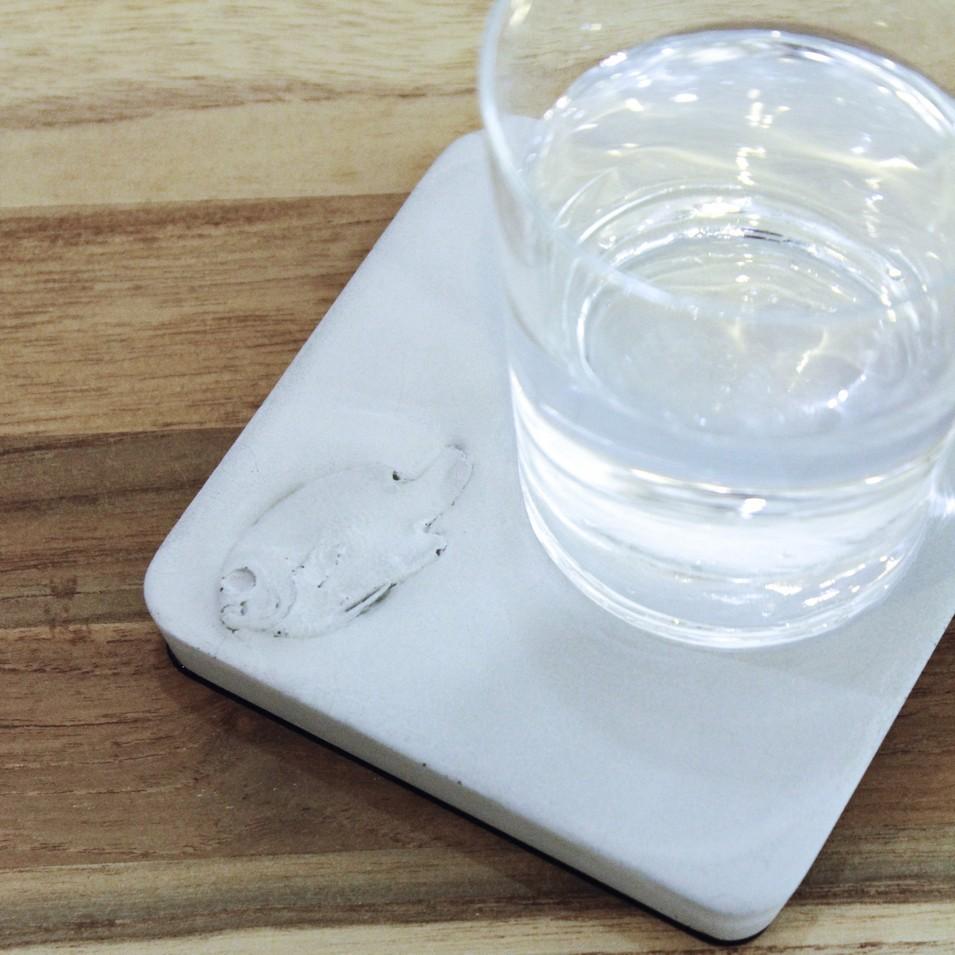 KALKI'D 環保設計 親水泥 - 神奇吸水杯墊 (魚) | 設計 | Citiesocial