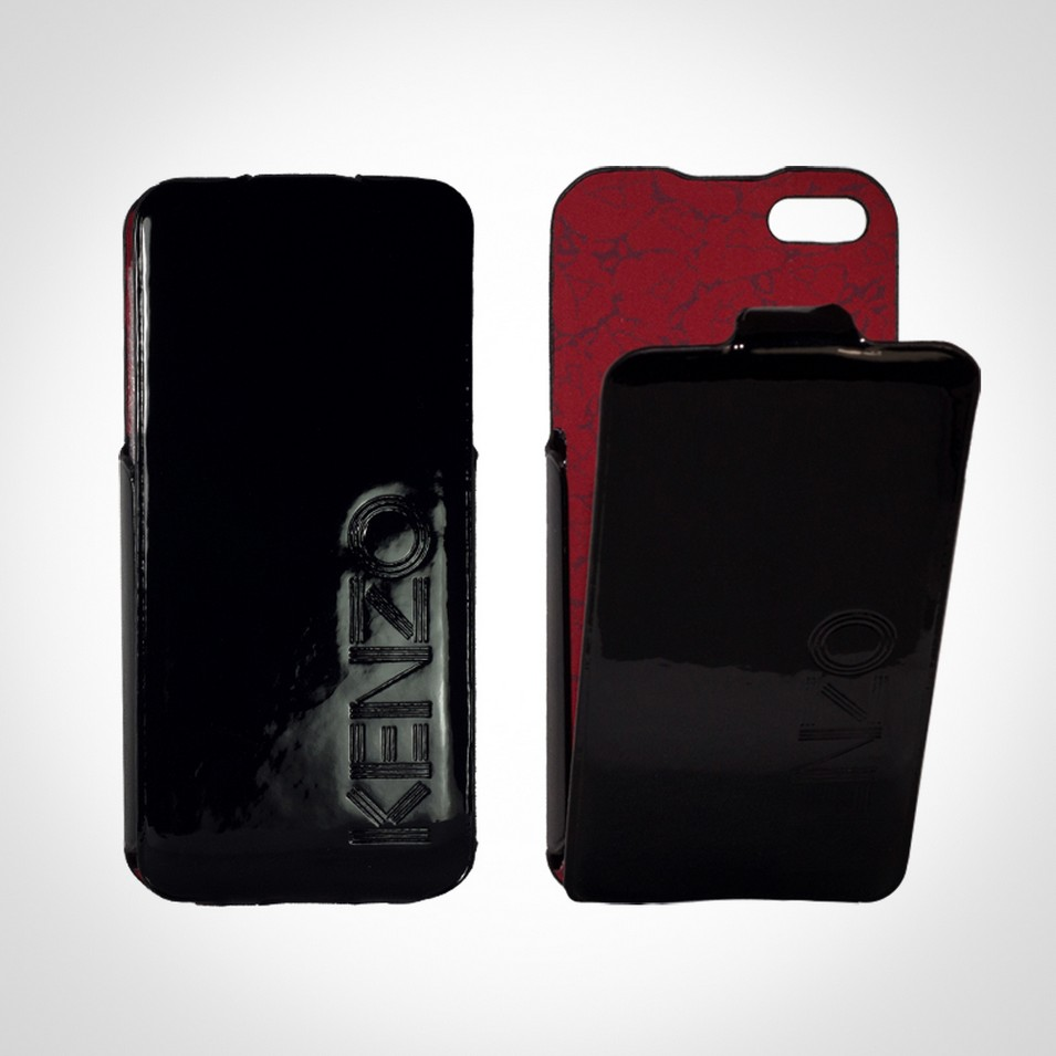 KENZO Glossy系列 iPhone5 亮面皮革保護套(黑) | 設計 | Citiesocial